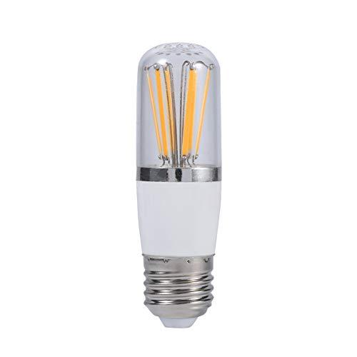 Zerodis Bombilla de filamento LED, 12V Tornillo Socket E27 Ahorro de energía Brillante Techo de Techo Lámpara Colgante Lámpara de reemplazo de lámpara Estilo Vintage (Warm White 6W)