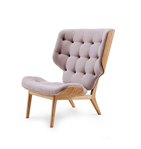 LC-SHBAGS Ohrensessel Reclining Nordic Single Sofa Stuhl Einfache Baumwolle Leinen Mode Hohe Rückenlehne, Einfache Massivholz Freizeit Stuhl Ohrensessel Gray