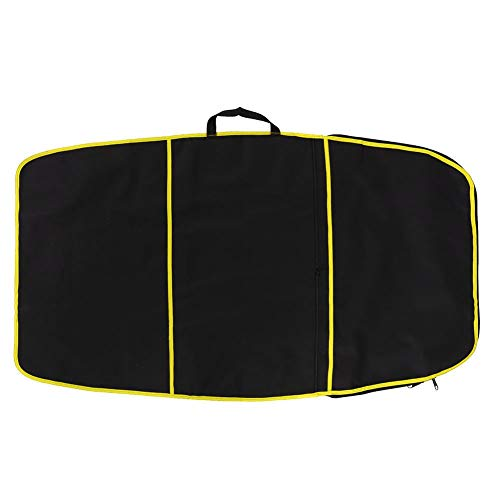 Jadeshay Surfboard Bag,Surfboard Bodyboard Cover Polyester Carry Bag Surfing Accessory(Yellow Stripe, red Stripe, Blue Stripe) (Color : Yellow Stripe)