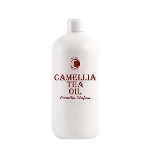 Mystic Moments Olio di Camelia (Olio di Semi del tè) - 1000ml - Puro al 100%