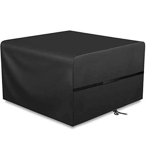 GIKPAL Fundas Muebles Jardín, Impermeable Cubierta de Exterior Funda Protectora Muebles 420D Oxford Resistente al Polvo para Sofa de Jardin, al Aire Libre, Mesa y Sillas (125 * 125 * 74 cm)