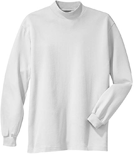 Men's Large Tall Mock Turtleneck Sweaters