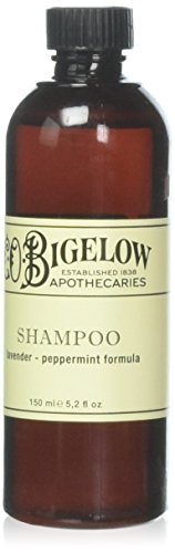 C.O. Bigelow Lavender and Peppermint Shampoo 150ml, Set of 3