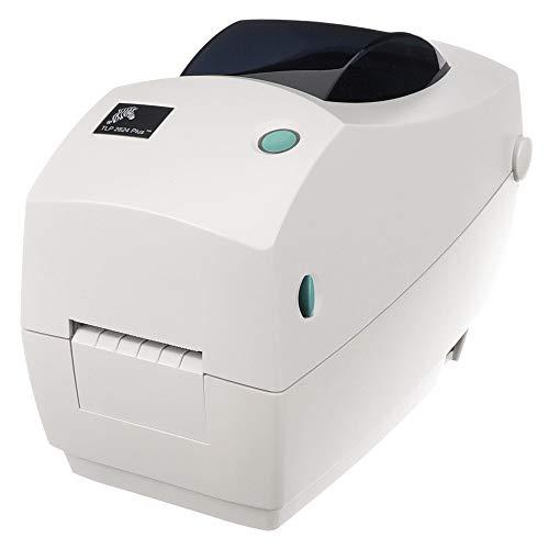 Zebra TLP2824 Plus Thermal Transfer Desktop Printer Print Width of 2 in Serial and USB Port Connectivity 282P-101110-000