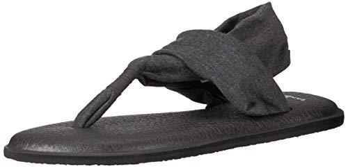 Sanuk Damen Yoga Sling 2 Sandale, anthrazit, 40 EU