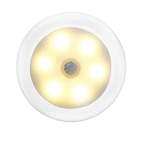 LAANCOO Caliente LED de inducción Luz Led inalámbrico de Pared de la lámpara de inducción llevó la luz con Interruptor somatosensoriales para la Sala de Dormitry