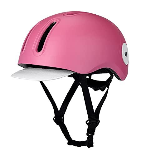 QYK -Casco de Bicicleta para Adultos, Seguridad para viajeros jóvenes, Hombres y...
