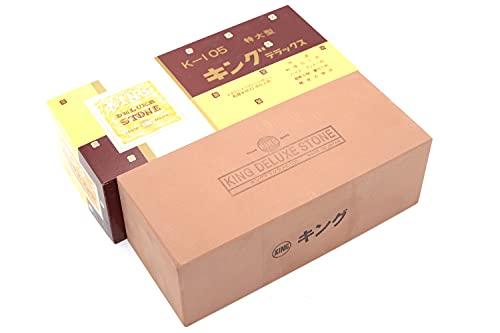 Piedra de afilar japonesa extragrande K-105 800, grano #800, afilado cuchillo de cocina