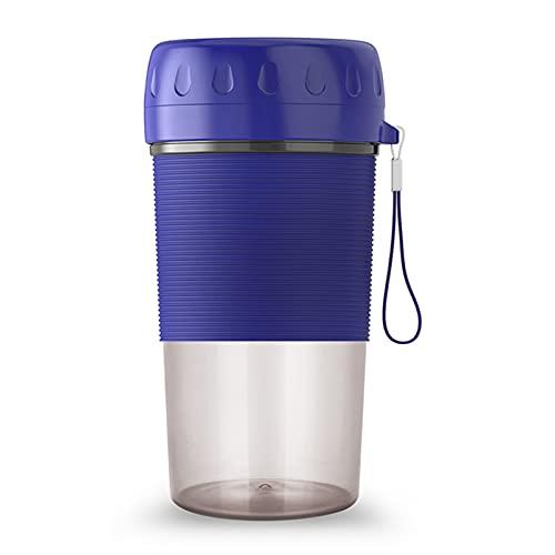 Hievomi Licuadora portátil, 300 ml, mini batidora para zumos y batidos, batidora personal y deportiva, para fruta recargable por USB, para viajes deportivos y al aire libre