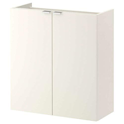 LILLANGEN Waschbeckenunterschrank mit 2 Türen, Weiß