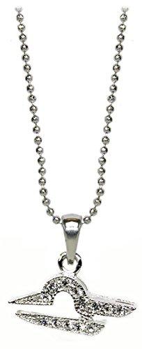 Kaltner Präsente Cadeau-idee – halsketting voor dames en heren met sterrenbeeld-hanger, weegschaal en kristallen stenen
