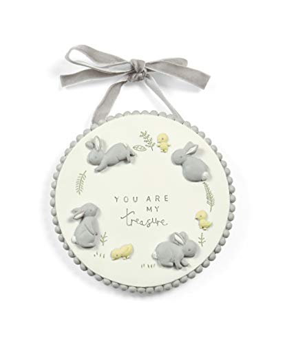 Mamas & Papas Baby Nursery Hanging Door Plaque Keepsake Gift - Forever Treasured