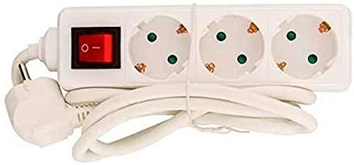 baratos y buenos Powergreen REG-03015-3 SWI cable de extensión de alimentación con enchufe 3G1 calidad