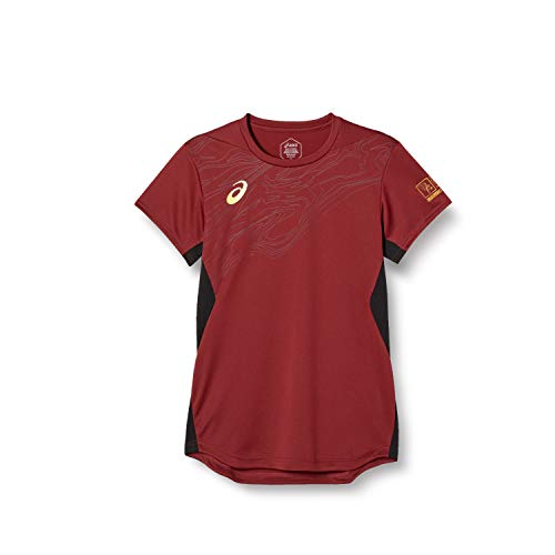 [アシックス] バレーボールウエア EAGLE LINE グラフィック半袖シャツ 2051A262 メンズ 600(ビートジュースA) 日本 2XL (日本サイズ3L相当)