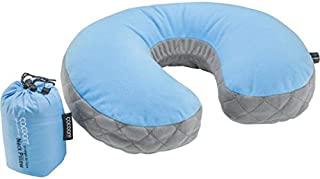 Cocoon Ultralight Air-Core Neck Pillow (Light Blue/Grey)