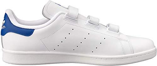 adidas Herren Stan Smith Basketballschuhe, Weiß (Ftwbla/Reauni 000), 44 2/3 EU