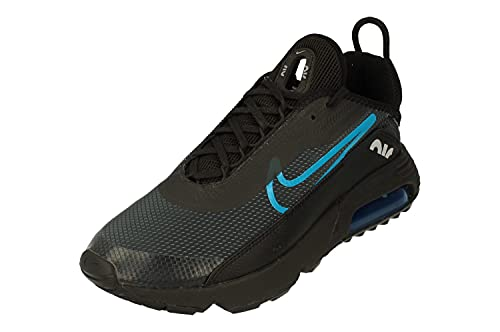 Nike Air MAX 2090 Hombre Running Trainers DC4117 Sneakers Zapatos (UK 10 US 11 EU 45, Black Laser Blue Wolf Grey 001)