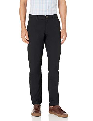 Amazon Essentials Slim-fit Lightweight Stretch Pant Pantalones, Negro, 31W / 34L