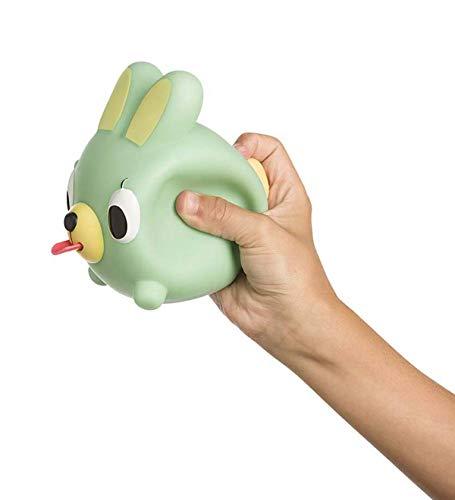 Oshaberi Doubutsu Talking Animal Ball Borukuma Stress Ball - Green Bunny (Rabbit)