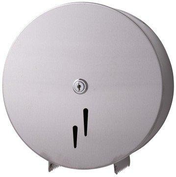 Blanc HYGIENIC • Jumbo-Toilettenpapierspender Maxi • Edelstahl matt • Ø max. 280 mm je Rolle