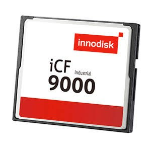INNODISK DC1M-16GD71AW1QB Solid-State Flash Memory, Industrial Compact Flash 9000 Memory Card, iCF9000 Industrial CF Card with Toshiba(Industrial, W/T Grade, -40~85°C) - 16GB iCF9000 SLC