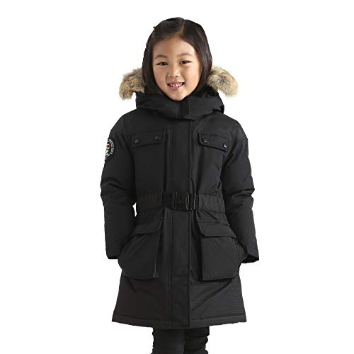 Triple F.A.T. Goose Arkona Girls Down Jacket Parka with Real Coyote Fur