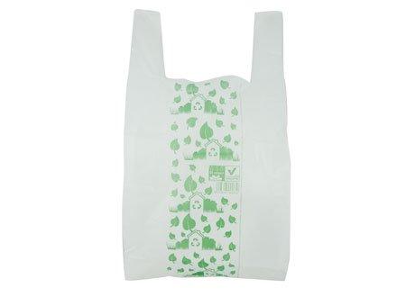 IMBALLAGGI 2000-500 Sacchetti Borse Biodegradabili - 27x50 cm - Buste Compostabili per Umido - Confezione da 500