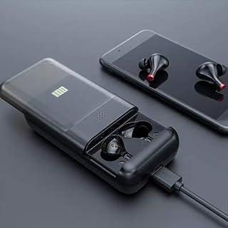 WXXS 10000 mAh 2020 New Two-in-one T08P miniTWS binaural Wireless Stereo Bluetooth Headset and Charging Treasure Digital D...