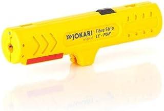 Jokari 30810 Stripper Longitudinal Cut of Sheathing of PUR-Coated Fibre Optic Cables, Multi-Coloured