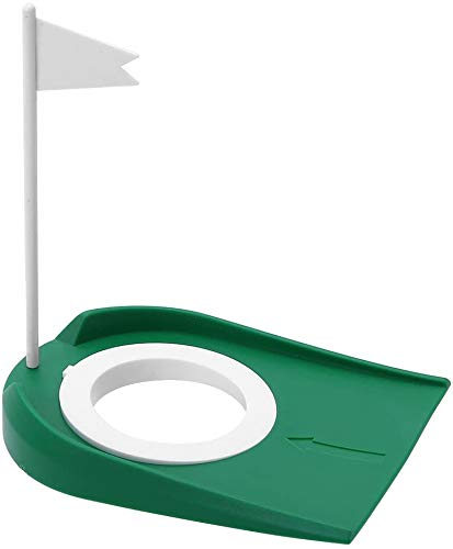 shangji Indoor Putting Green Golf Putting Machine Golf Kids Gifts Putting Mat Indoor Golf Golf Practice Putting Cup Hole Practice Aids With White Flag