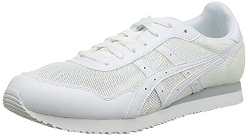 Asics Tiger Runner, Walking Shoe Unisex Adulto, White/White, 40 EU