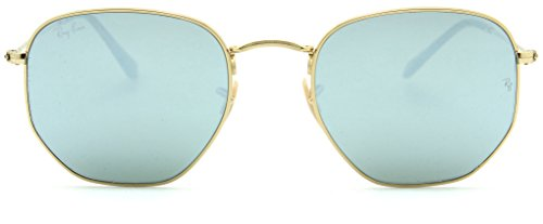 Ray-Ban RB3548N Hexagonal Flat Lenses Unisex Sunglasses 001/30 - 48mm