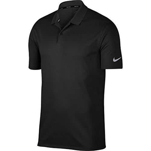 Nike Herren Poloshirt Victory (L) (Schwarz/Kühles Grau)