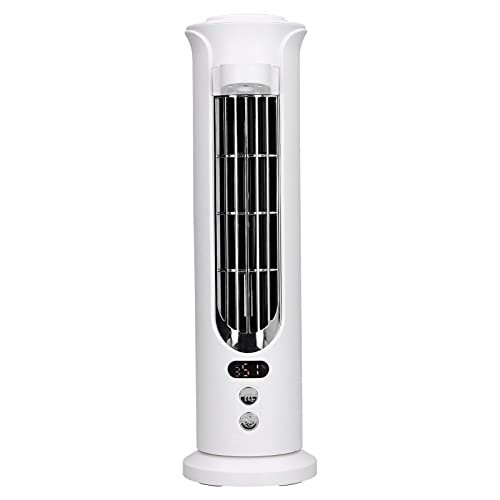 Zerodis 140ml USB Desk Fan, 90 Degree Shaking Head Spray Cooling Fan Adjustable Portable Electric Fan for Living Room Outdoor Dormitory for Home Office Camping(white)