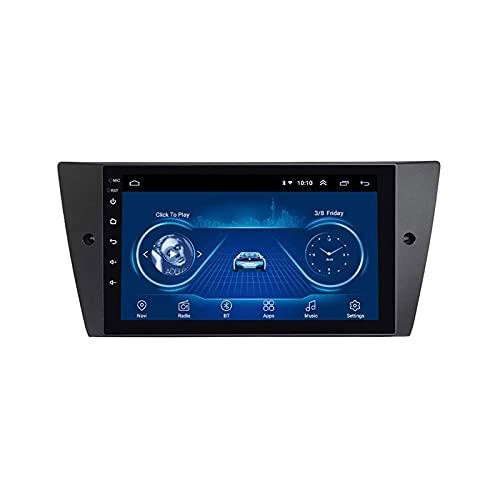 Android 9.1 Coche Estéreo GPS Navegación para BMW E90 Unidad de cabeza Auto Multimedia Player SAT NAV FM Radio Receptor con WiFi Bluetooth MirrorLink Touchscreen DSP SWC USB,4 core 4g+wifi: 1+16gb