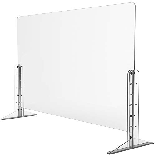 """Sneeze Guard - 32"""" x 24"""" Protective Sneeze Guard Now $74 (Was $120)"""