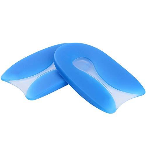 U en forma de gel de silicona Talonera de Gel Plantilla Ortopédica de Silicona, alivio del dolor por, Talón para Aliviar el Dolor de la Fascitis Plantar