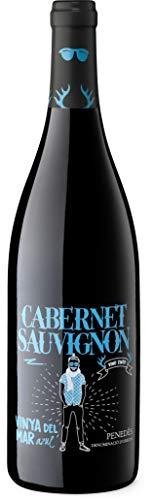 Vinya del Mar Cabernet Sauvignon - Vino Tinto D.O. Penedés, 750 ml, 1 Botella
