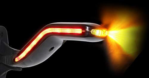 LED Lucidity Begrenzungsleuchte Flexibel Umrissleuchte Cobra LINKS Anhänger 12v24v Schlagfest mit e-Prüfzeichen