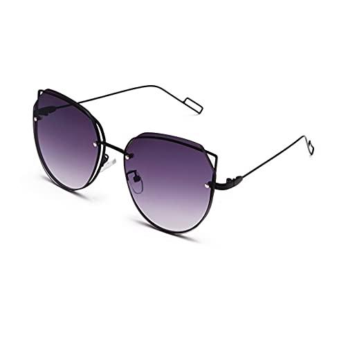 DAIDAICDK Gafas de Sol con Forma de Ojo de Gato para Mujer y Hombre Gafas de Sol con Degradado Colorido Gafas de Viaje para Exteriores Accesorios para Coche