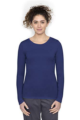 healing-hands-Scrubs-Melissa-5047-Knit-Long-Sleeve-Underscrub-Tee-Shirt