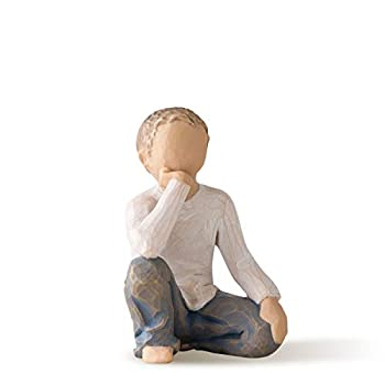 Willow Tree Inquisitive Child Sculpted Hand-Painted Figure