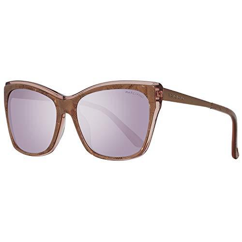 Guess GM0739 5774Z Guess By Marciano Sonnenbrille Gm0739 74Z 57 Schmetterling Sonnenbrille 57, Braun