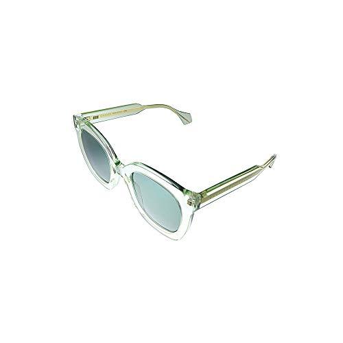 Gucci Gafas de sol GG0564S 004 Gafas de sol mujer color Verde transparente tamaño de la lente 51 mm