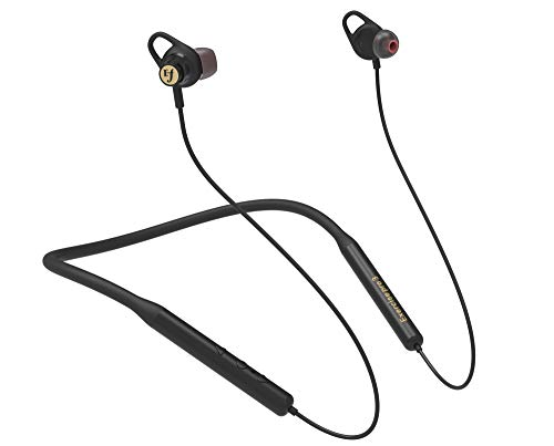 Efforts Bluetooth Neckband Headphones Wireless in-Ear Earbuds with Sports Mode Bass Boost Feature, 12mm Drivers, Sweat Resistant, Lightweight for Sports, Running, Workout, Travel, Gym