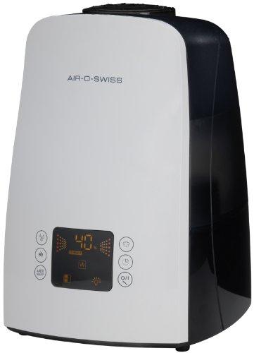 Boneco U650 - Humidificador por ultrasonidos antibacteriano, 550 g/h, 40-140 W, 60 m², color blanco