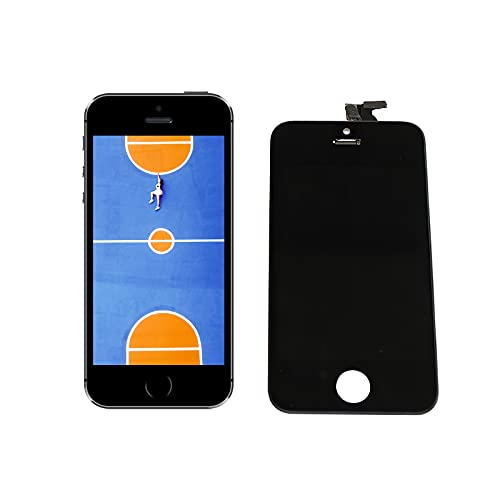OUZHOU Pantalla LCD de alta dureza y digitalizador Asamblea completa Reemplazo de pantalla duradera de alta definición de pantalla LCD digitalizador táctil Asamblea para iPhone5S SE