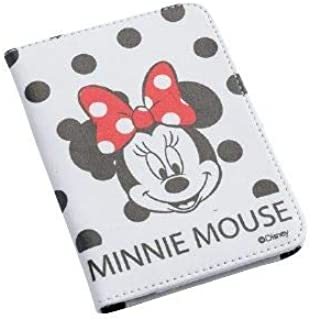 Passport Cover Minnie Mouse Black & White Dotted Travel ID Holder