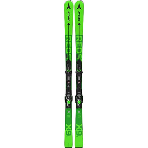 ATOMIC Redster X9 S + X 12 Gw Ski, Unisex, Erwachsene, Unisex, AASS02390175, Grün (Verde), 175 cm