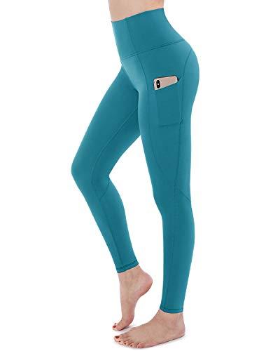 STYLEWORD - Pantaloni da yoga da donna, con tasche, a vita alta, per allenamento -  -  XL